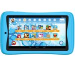 £99.99, KURIO Advance C17150 7inch Kids Tablet - 16 GB, Blue, Android 6.0 (Marshmallow), Standard resolution display, Store up to 3 hours of HD video / up to 3700 photos, Battery life: Up to 7 hours, microSD card reader,