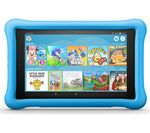 £129.99, AMAZON Fire HD 8inch Kids Edition Tablet (Oct 2018) - 32 GB, Blue, Fire OS 5, HD Ready display, Store up to 6 hours of HD video / up to 7500 photos, Battery life: Up to 10 hours, microSD card reader,