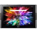 £279.99, ACER Iconia A3-A50 Full HD 10.1inch Tablet - 64 GB, Black, Android 7.0 (Nougat), Full HD display, Store up to 11 hours of HD video / up to 14000 photos, Battery life: Up to 10 hours, microSD card reader,