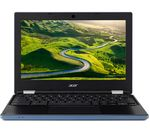 £199.97, ACER CB3-131 11.6inch Chromebook - Blue, Chrome OS, Intel® Celeron® Processor N2840, RAM: 2GB / Storage: 16GB eMMC, Battery life:Up to 9 hours, 2 year subscription to 100GB Google Drive storage,