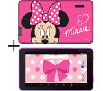 £69.99, ESTAR 7inch Tablet & Case - 8 GB, Minnie Mouse, Android 7.1 (Nougat), HD Ready display, Store up to 1.5 hours of HD video / up to 1800 photos, microSD card reader, Miracast,