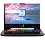 £1799, ASUS ROG Strix II GL504 15.6inch Intel® Core™ i7 GTX 1060 Gaming Laptop - 1 TB & 512 GB SSD, Intel® Core™ i7-8750H Processor, RAM: 16GB / Storage: 1 TB HDD & 512GB SSD, Graphics: NVIDIA GeForce GTX 1060 6GB, Full HD display / 144 Hz, Battery life:Up to 4 hours,