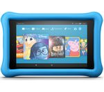 £129.99, AMAZON Fire HD 8 Kids Edition Tablet (2018) - 32 GB, Blue, Fire OS 5, HD Ready display, Store up to 6 hours of HD video / up to 7500 photos, Battery life: Up to 12 hours, microSD card reader,