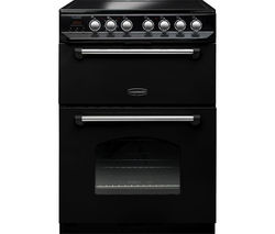 RANGEMASTER Classic 60 Electric Ceramic Cooker - Black