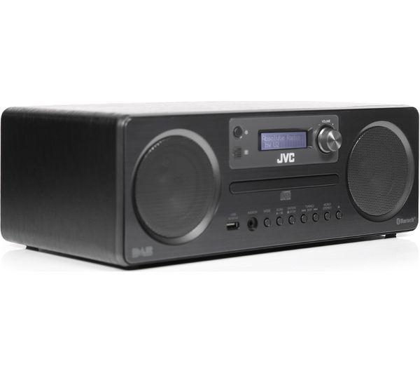 buy jvc rd d70 wireless traditional hi fi system black. Black Bedroom Furniture Sets. Home Design Ideas