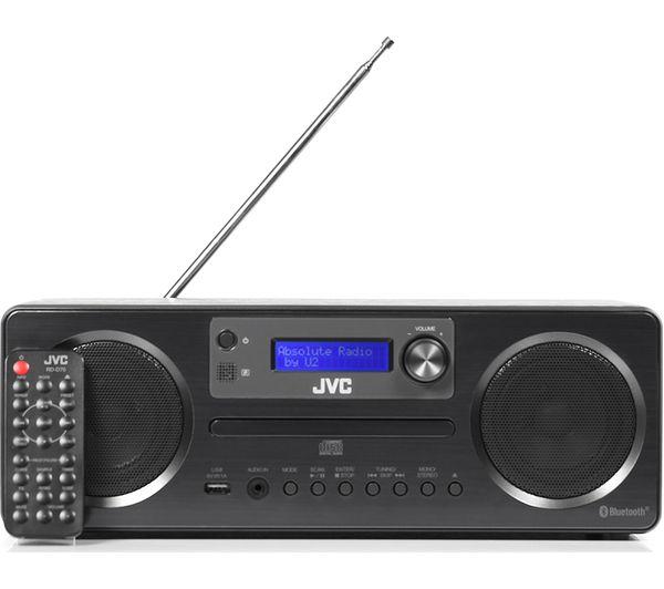 Buy Jvc Rdd70 Wireless Traditional Hifi System Black Free Rhcurryscouk: Jvc Radio Bluetooth Wi Fi At Gmaili.net