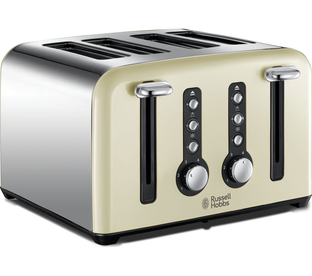 RUSSELL HOBBS Windsor 22830 4-Slice Toaster - Cream