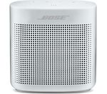 BOSE Soundlink Color II Portable Bluetooth Wireless Speaker - White