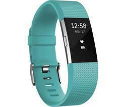 FITBIT Charge 2 Classic Accessory Band - Teal, Small