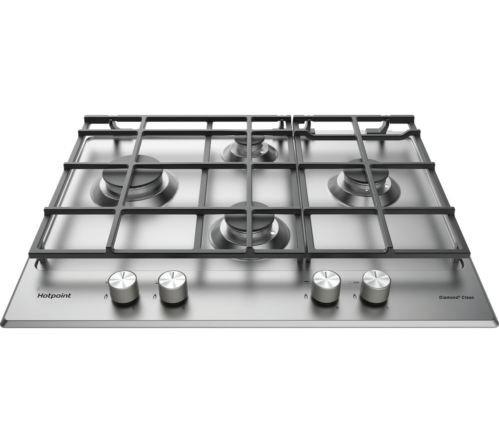 HOTPOINT PKL 641 EX/H Gas Hob - Stainless Steel