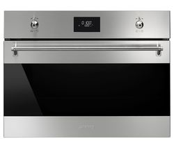 SMEG SF4309MX Built-in Microwave with Grill - Stainless Steel