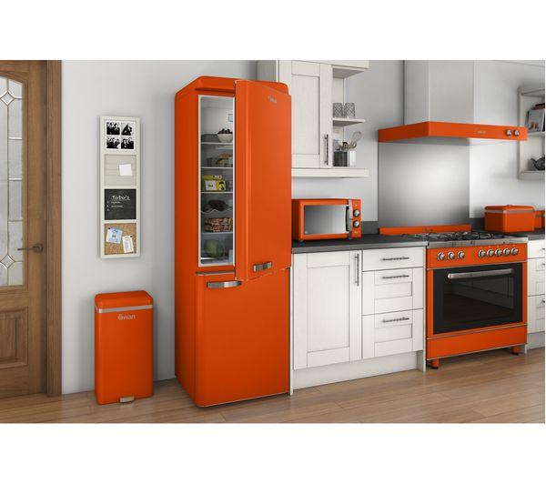 Buy SWAN Retro SM22070ON Solo Microwave - Orange