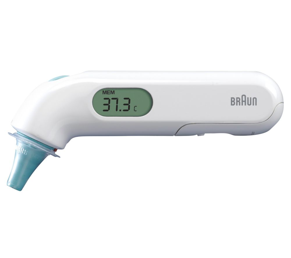 Image of BRAUN ThermoScan 3 Ear Thermometer, Braun