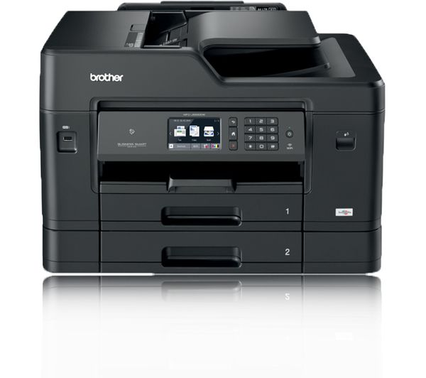 An Image Of Brother Mfcj6930dw All In One Wireless A3 Inkjet Printer With Fax
