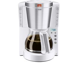 MELITTA Look IV Timer Filter Coffee Machine - White