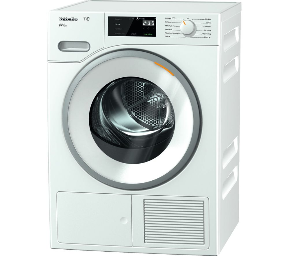 MIELE Eco TWF620WP Heat Pump Tumble Dryer - White