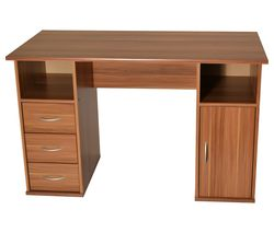 ALPHASON Maryland Desk - Walnut