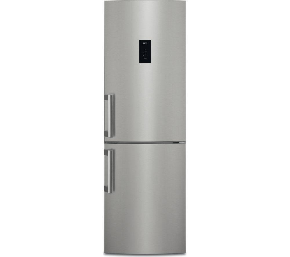 AEG CustomFlex RCB53324MX 60/40 Fridge Freezer - Silver & Stainless Steel