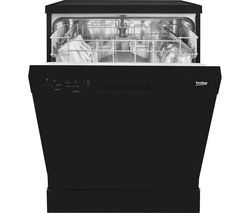 BEKO DFN04210B Full-size Dishwasher - Black Best Price, Cheapest Prices