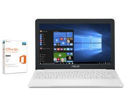 "ASUS VivoBook E203 11.6"" Laptop - White"