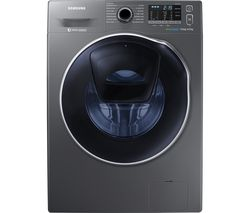SAMSUNG ecobubble WD80K5410OX/EU 8 kg Washer Dryer - Graphite