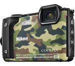 NIKON COOLPIX W300 Tough Compact Camera - Camo