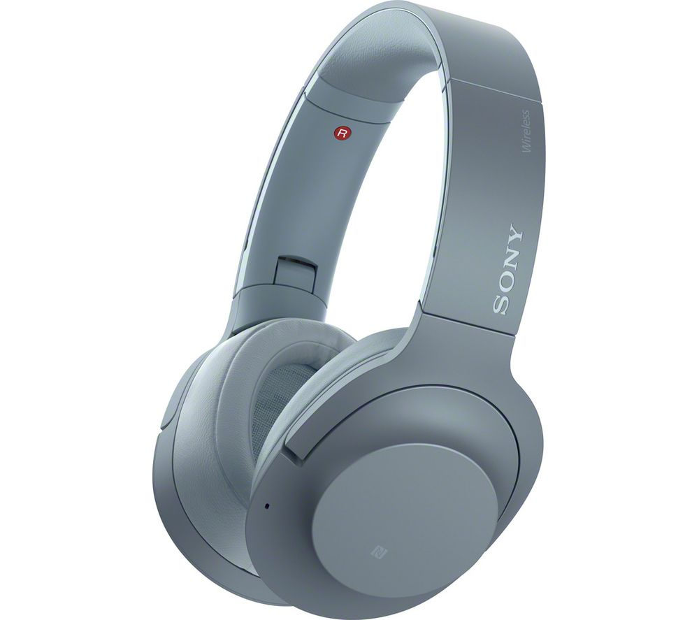 SONY WH-H900N Wireless Bluetooth Noise-Cancelling Headphones - Blue