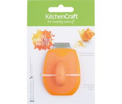 KITCHEN CRAFT Orange Peeler - Orange