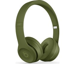 BEATS Solo 3 Neighbourhood Wireless Bluetooth Headphones - Turf Green