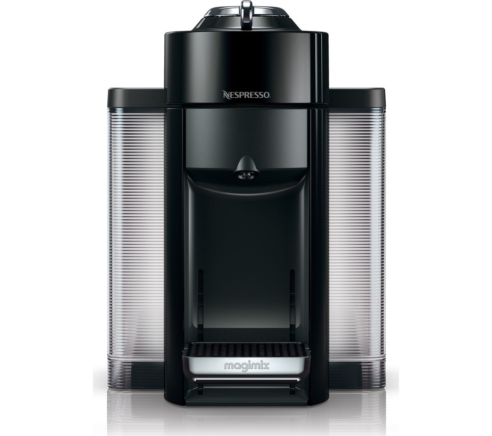 nespresso by magimix vertuo m650 coffee machine black. Black Bedroom Furniture Sets. Home Design Ideas
