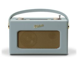 ROBERTS Revival RD70 Portable DAB+/FM Retro Bluetooth Clock Radio - Duck Egg