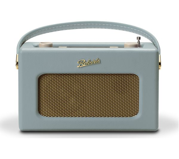 Image of ROBERTS Revival RD70 Portable DAB+/FM Retro Bluetooth Clock Radio - Duck Egg