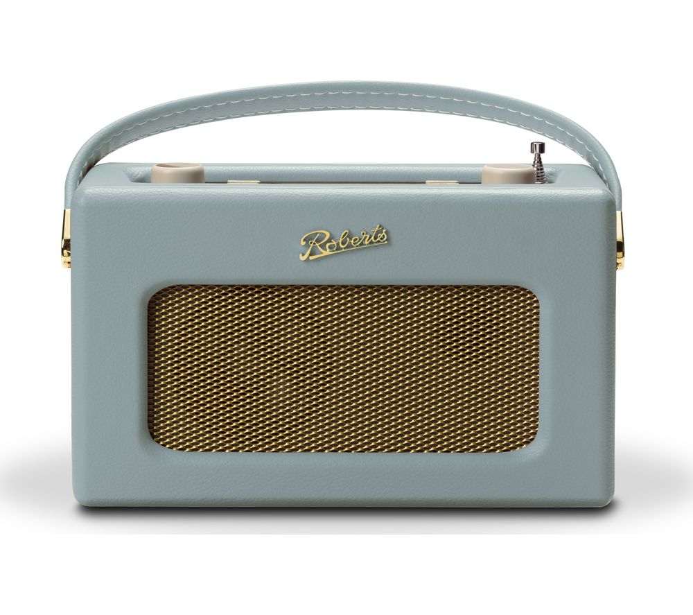 Compare retail prices of Roberts Revival RD70DE Portable DAB Retro Bluetooth Clock Radio - Duck Egg to get the best deal online