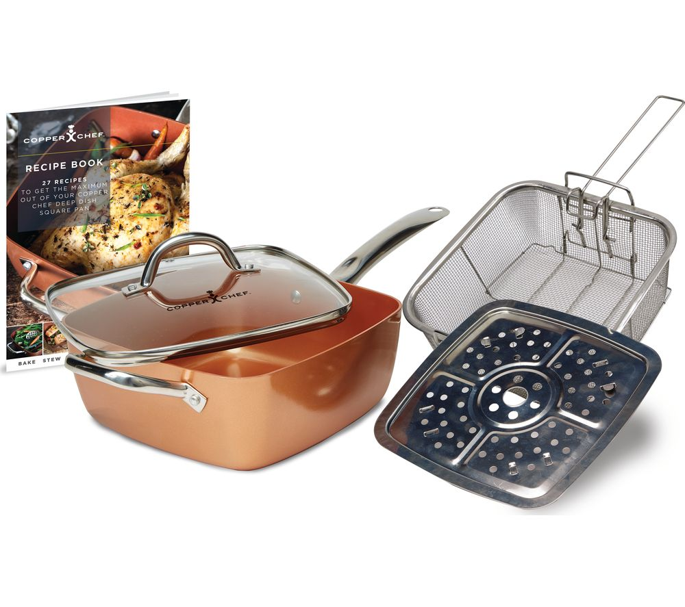 Compare prices for High Street TV Chef 5-piece Cookware Set Copper