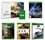 MICROSOFT Xbox One S with Assassin's Creed Origins & Tom Clancy's Rainbow Six Siege