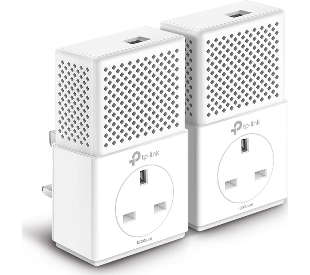 TP-LINK TL-PA7010P Powerline Adapter Kit - Twin Pack