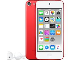 APPLE iPod touch - 64 GB, 6th Generation, Red