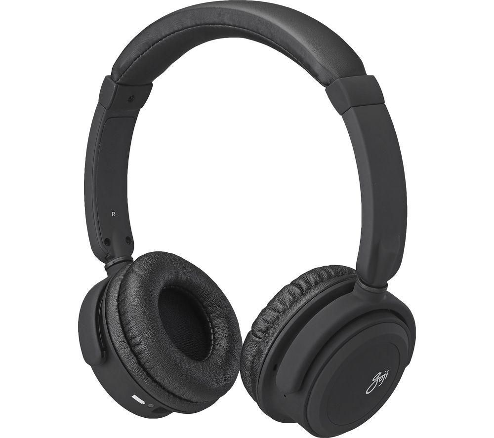 GOJI Lites GLITOBT18 Wireless Bluetooth Headphones - Black