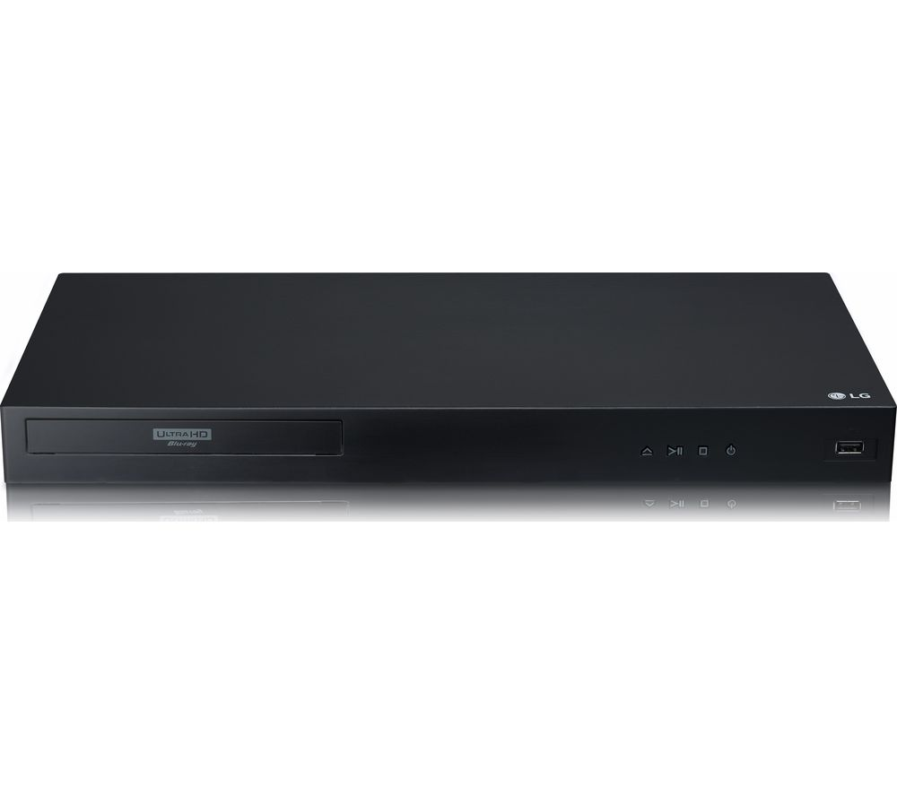 LG UBK90 Smart 4K Ultra HD HDR Blu-ray & DVD Player