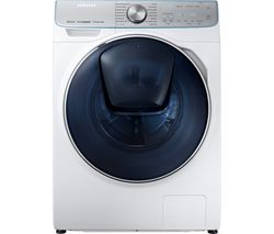 SAMSUNG QuickDrive + Addwash WD10N84GNOA Smart 10 kg Washer Dryer - White