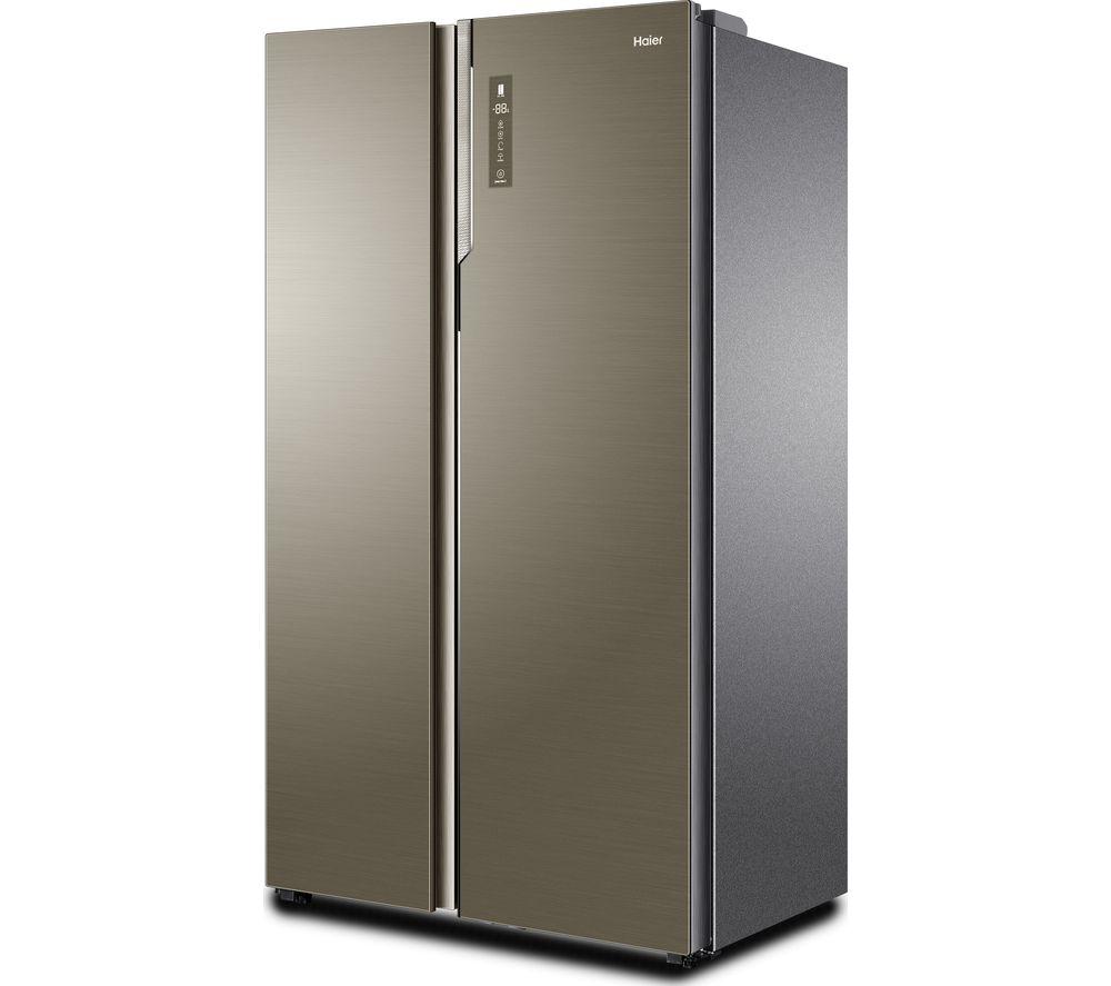 HAIER HRF-800DGS7 American-Style Fridge Freezer - Silver