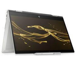 "HP ENVY x360 15.6"" Intel® Core™ i7 2 in 1 - 1 TB HDD & 128 GB SSD, Silver"
