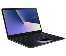 "ASUS ZenBook Pro 15.6"" Intel® Core™ i7 GTX 1050 Laptop - 512 GB SSD, Black"
