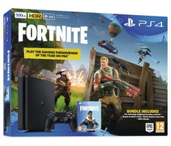 SONY PlayStation 4 Slim (500 GB) Fortnite Battle Royale Bundle