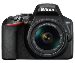NIKON D3500 DSLR Camera with AF-P DX NIKKOR 18-55 mm f/3.5-5.6G Lens