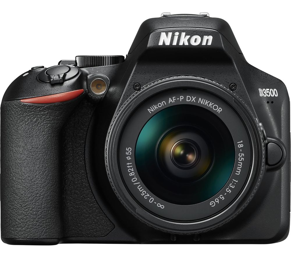 D3500 DSLR Camera with AF-P DX NIKKOR 18-55 mm f/3.5-5.6G Lens