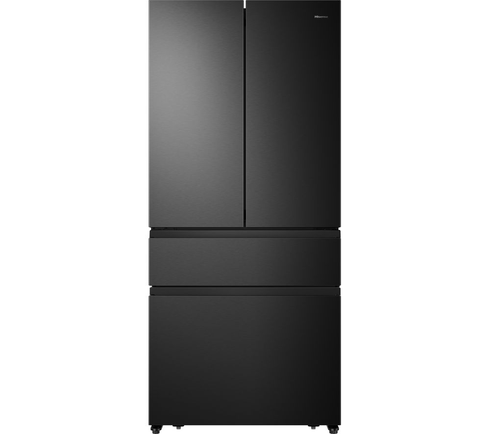 HISENSE PureFlat RF540N4AF1 Fridge Freezer - Black Steel