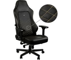 HERO Gaming Chair - Black & Gold