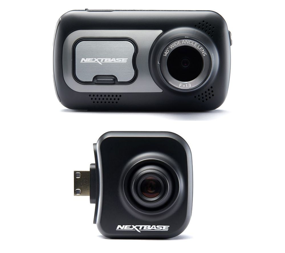 NEXTBASE 522GW Dash Cam with Amazon Alexa & Cabin View Dash Cam Bundle