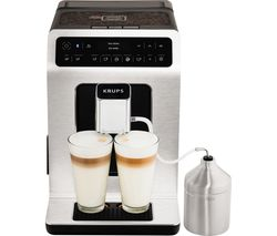 KRUPS Evidence Connected EA893D40 Smart Bean to Cup Coffee Machine - Metal Best Price, Cheapest Prices